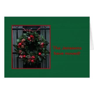 Neue Adressen-Weihnachtskarte - addieren Sie Ihren Karte