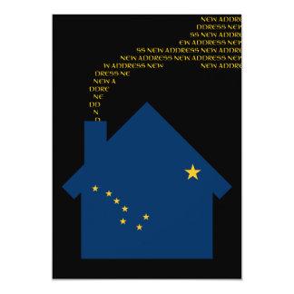 neue Alaska-Adresse 12,7 X 17,8 Cm Einladungskarte