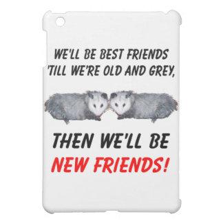 Neue alte Freunde mit Opossums iPad Mini Hülle
