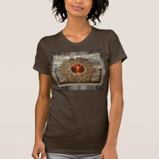 Neue Alters-Buddha-Fotocollage T-Shirt