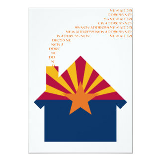 neue Arizona-Adresse 12,7 X 17,8 Cm Einladungskarte