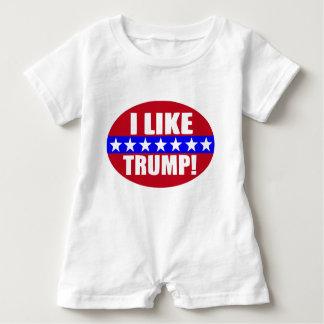 neue Art - Donald Trump B Baby Strampler