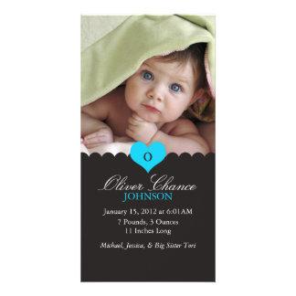 Neue Baby-Geburts-Mitteilung Photokarten