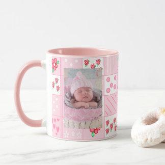 Neue Baby-Mädchen-kundengebundene Tasse