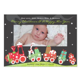 NEUE BABY-ZUG Weihnachtsfeiertag GreetiIng Karte 12,7 X 17,8 Cm Einladungskarte