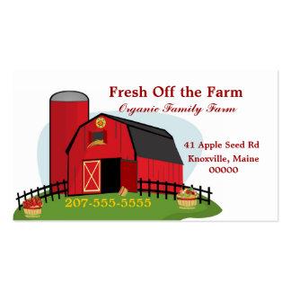 Neue Bio Landwirtschaft Visitenkarten