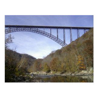 Neue Fluss-George-Brücke Postkarte
