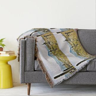 Neue Fluss-LandschaftsWurfs-Decke Decke
