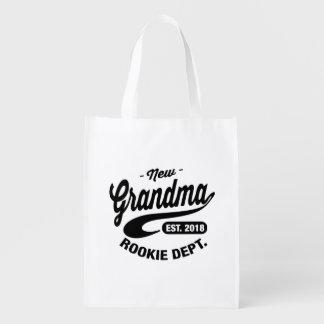 Neue Großmutter 2018 Wiederverwendbare Einkaufstasche