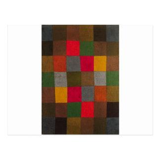 Neue Harmonie durch Paul Klee Postkarte