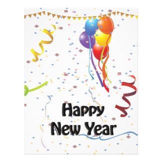 Neue Jahre der Feier-#2 Flyer- 21,6 X 27,9 Cm Flyer