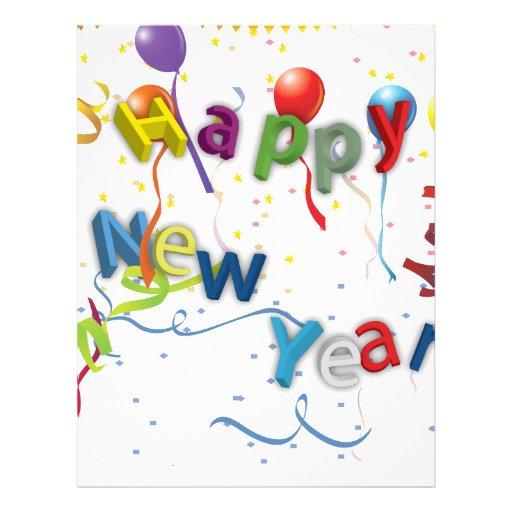 Neue Jahre der Feier-#3 Flyer-