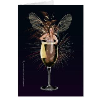 Neue Jahre Fee-Karten- Grußkarte