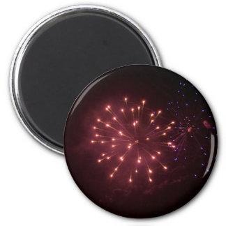 Neue Jahre Feuerwerke Kühlschrankmagnete