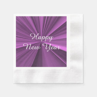 Neue Jahre magentarote Papierservietten-durch Janz Papierserviette
