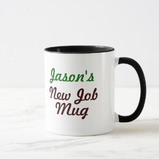 Neue Job-Büro-Tasse Tasse