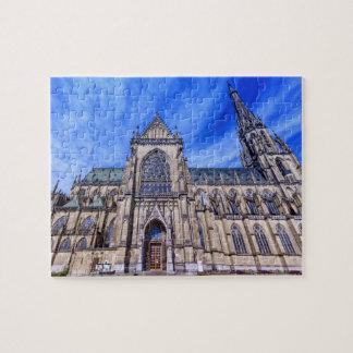 Neue Kathedrale, Linz, Österreich Puzzle
