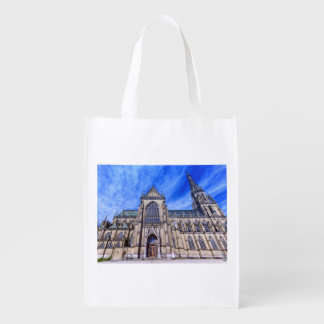 Neue Kathedrale, Linz, Österreich Wiederverwendbare Einkaufstasche