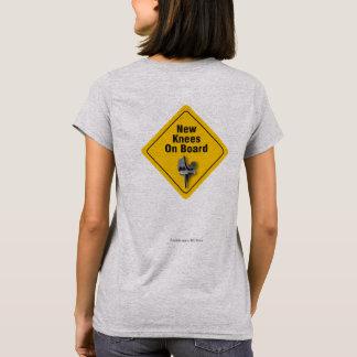 """Neue Knie an Bord"" bilateralen TKR T - Shirt"