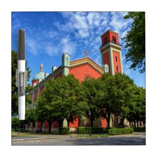 Neue lutherische Kirche in Kezmarok, Slowakei Trockenlöschtafel