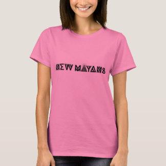 Neue Mayans rosa lange Hülse T-Shirt
