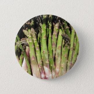 Neue Spargelhand ausgewählt vom Garten Runder Button 5,1 Cm