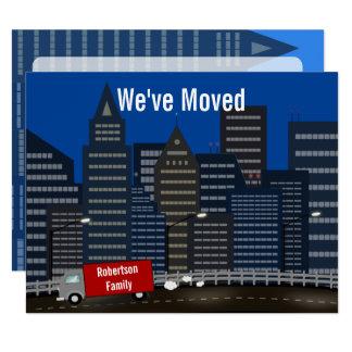 Neue Stadt-bewegliche Mitteilung 10,8 X 14 Cm Einladungskarte