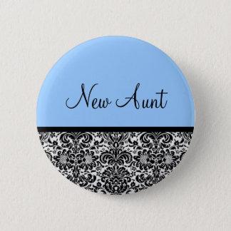 Neue Tante Runder Button 5,7 Cm