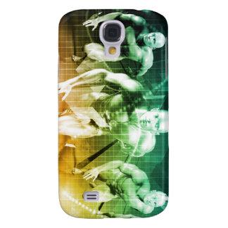 Neue Technologie als ES Konzept-Hintergrund Galaxy S4 Hülle