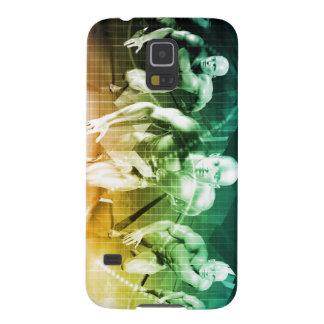 Neue Technologie als ES Konzept-Hintergrund Galaxy S5 Hülle