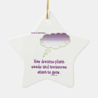 Neue Traum-Pflanzensamen Ornamente