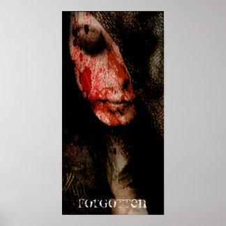 - [NEUE ÜBEL] - Mädchen des Bluts vergessen Poster
