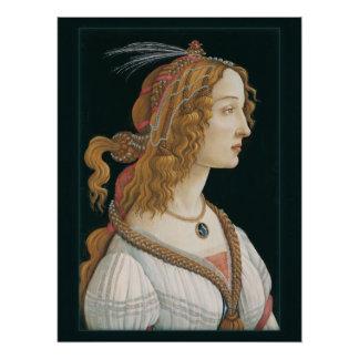 Neue Wahlen Sandro Botticelli-Damen-CC0321 Poster