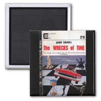 Neue Welt156 (1965-11.Roberts&Vinter) _Pulp Kunst Quadratischer Magnet