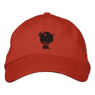 Neue WeltLil Teufel-Kappe Mandarine Bestickte Baseballkappe