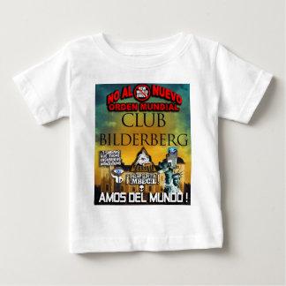 NEUE WELTORDNUNG ILLUMINATI BILDERGERG BABY T-SHIRT