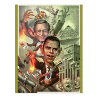 Neue Weltordnung Postkarte