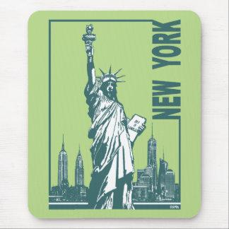 Neue York-Statue der Freiheit Mousepad