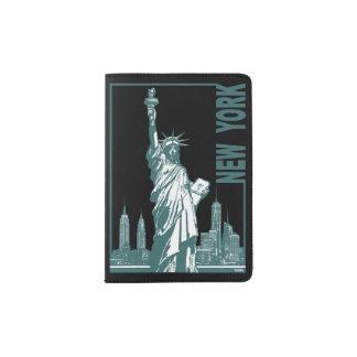 Neue York-Statue der Freiheit Passhülle