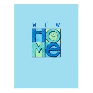 Neue Zuhause-Postkarte Postkarte