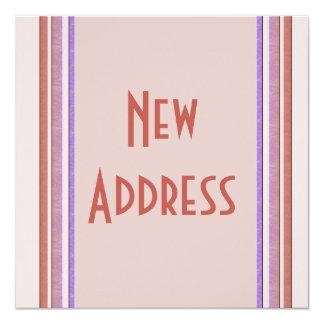 Neuer Adressen-Pastell Quadratische 13,3 Cm Einladungskarte