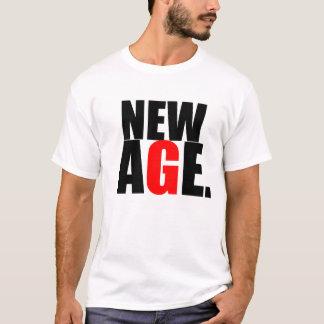 Neuer Alters-T - Shirt durch schwarzen Aufkleber