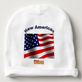 Neuer amerikanischer Bürger-BabyBeanie Babymütze