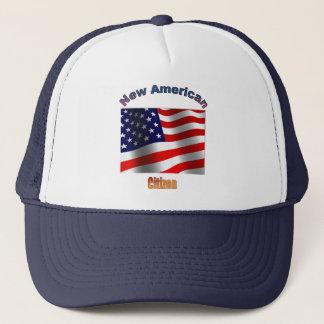 Neuer amerikanischer Staatsbürger Truckerkappe