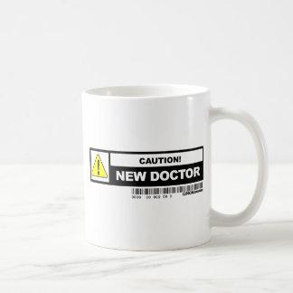 Neuer Doktor der Vorsicht Kaffeetasse
