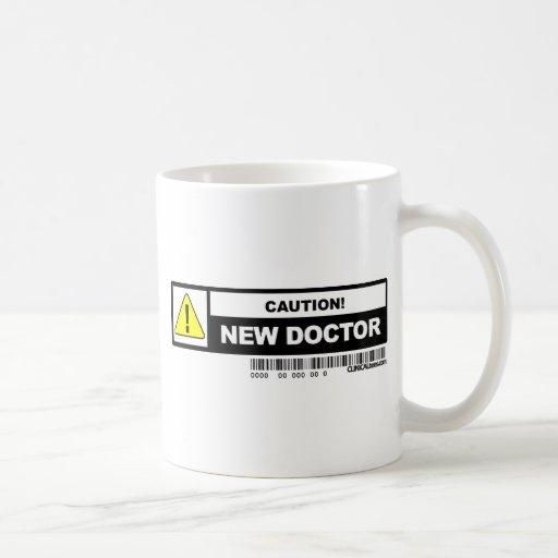 Neuer Doktor der Vorsicht Tassen
