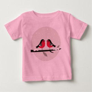 Neuer Entwurf im Geschäft: Liebevögel Baby T-shirt