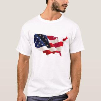 Neuer Entwurf USA, Karte des T - Shirt der