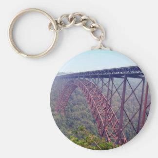 Neuer Fluss-Schlucht-Brücke Schlüsselanhänger