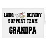 Neuer Grandbaby neuer Großvater Grußkarte